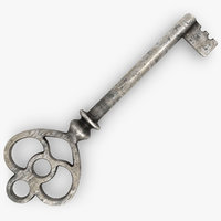 Vintage Key Gold & Silver (Old)