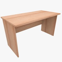 3d model rack office table