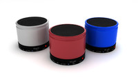 3d bluetooth speaker model