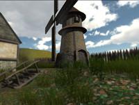 medieval wind 3d fbx