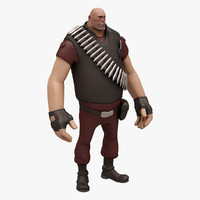 3d heavy team fortress