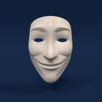 3d anonymous mask model