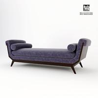 3d baker lola chaise 6148cs model