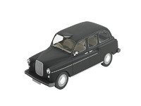 3d classic london taxi cab model