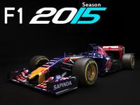 toro rosso str10 2015 3d model