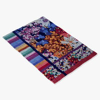 roche bobois rug patch 3d 3ds