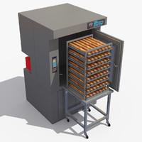 3d model rack oven