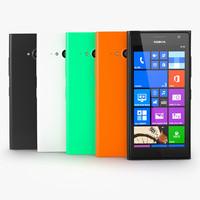 nokia lumia 730 3d model