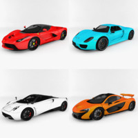 3ds hypercars pack