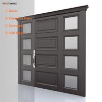 3d entry door model
