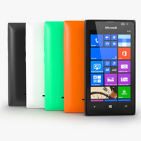 nokia lumia 435 3d model