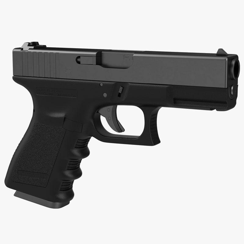 Compact Pistol Generic 3d model 00.jpg