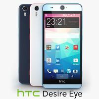 3d model htc desire eye