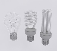 3d light bulbs