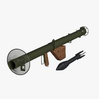 3ds max bazooka m1