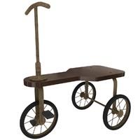 vintage tricycle 3d c4d