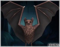 bats pack animations 3d x