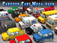 Cartoon Cars Pack