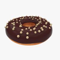 Donut - White ball Chocolate