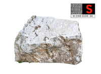 3d model of jurassic rock scanned 8k