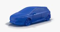 2015 Ford Focus ST 3D Print