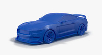 2016 Ford Shelby GT350R 3D Print