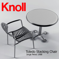 Toledo Stacking Chair and