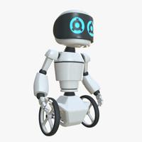 robot teo 3d 3ds
