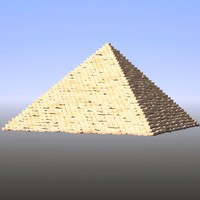 pyramid lightwave 3d model