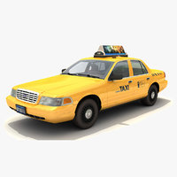 Taxi Car Ford Crown Victoria NY