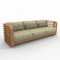 3ds sofa interior