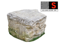maya jurassic rock scanned 8k