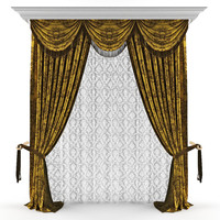 3ds max curtains classic