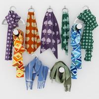 scarves shawls boutiques 3d max