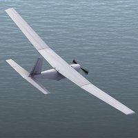 3d model puma rq20a drone