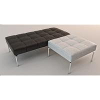 modern bench max