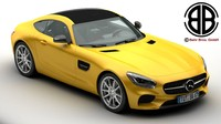 mercedes amg gt 2015 3ds