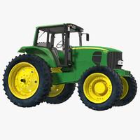 3ds max tractor john deere 7330