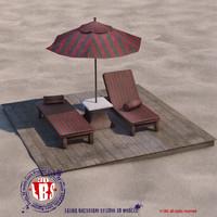 sunbed sand dxf
