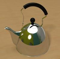 3d model classic kettle