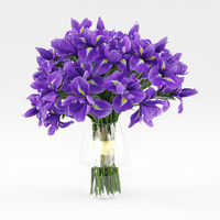 3d model flowers