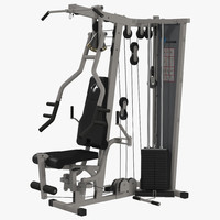 3d model weight machine