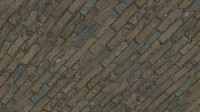 Old Brick Ground Texture