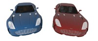 aston martin 77 set 3d 3ds