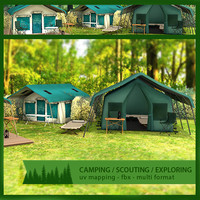Tents and Camping Pack