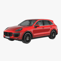 porsche cayenne turbo s 3d 3ds