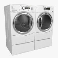 3ds max washer dryer