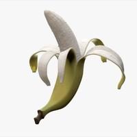 3d rigged banana model