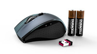 logitech marathon mouse m705 3d model