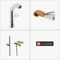 faucet set - zazzeri 3d model